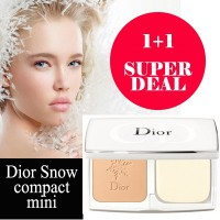 Dior snow White Reveal Pure And Perfect Transparency Compact Foundation SFP30 PF+++ #020 (3g*2Pc)