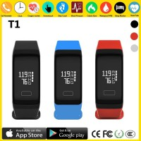 SmartBand TLW T1 Original 100% Smartwatch Support Android dan iOs - Merah