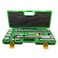 Kunci Sok / Sock / Socket Set 24 Pcs TEKIRO 1/2