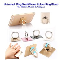 iring stent Universal bahan besi (Good Quality)|Phone Holder|mobile phone Ring Stand|Phone stan