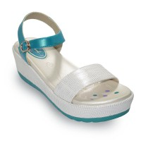CARVIL SANDAL CASUAL GIRLS FOLLOW 01 TW WHITE/TOSCA /56.FLW.001.WT
