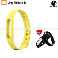 Strap Silicone Xiaomi Mi Band 1S Pulse - Yellow