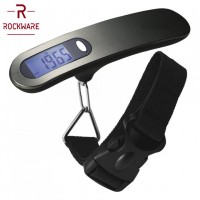 Original ROCKWARE RW-158 Metal Luggage Scale - Timbangan Koper 50 Kg