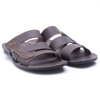 Dr.Kevin Leather Sandals 97172 Brown