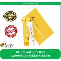 Kijoonggi Pack masker with serum (Free Kuas + Bandana makeup) / Kijonggi Pack Mask & Serum