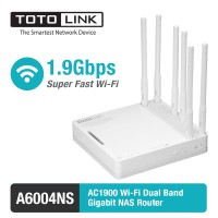TOTOLINK A6004NS - 1.9Gbps Wireless Dual Band Gigabit NAS Router