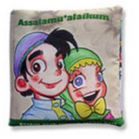 Buku Bantal / Softbook : Assalamualaikum