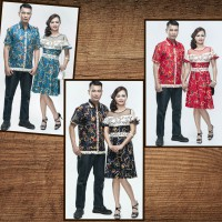 Couple Batik Sarimbit Sabrina Dress