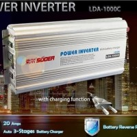 Inverter 1000 Watt 1000w 12v Charger Lda 1000 Suoer