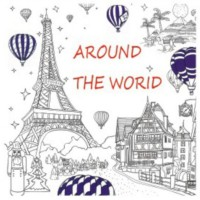 my Craft ST 7780 Colouring Books Around The World
