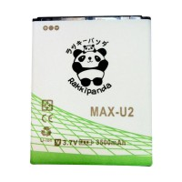 BATTERY BATERAI DOUBLE POWER DOUBLE IC RAKKIPANDA ANDROMAX U2/ MAX Qi/ MAX E2 PLUS 3500mAh