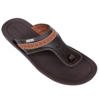 Neckermann Sandal Pria LV 9356 Dark Brown