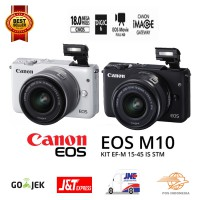 Canon EOS M10 Kit (EF-M15-45mm) Promo