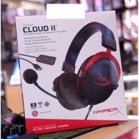 HyperX Cloud 2 Black Red Gaming Headset new