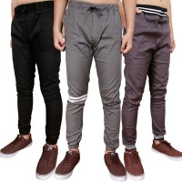VM Celana Jogger Slimfit Panjang Katun Stretch polos - fashion - Long Pants