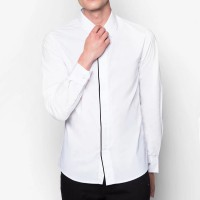 VM Kemeja Formal Simple Fashion Slimfit - Kemeja Kerja Casual