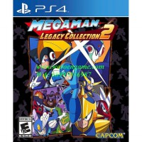 Promo PS4 Mega Man Legacy Collection 2 (R3 / Region 3 / PS4 Game) Bagus