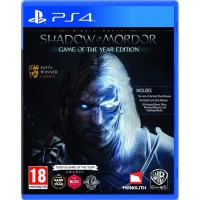 Promo Middle earth : Shadow of Mordor Goty Ps4 Game of the Year Edition Bagus