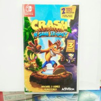 Promo NINTENDO SWITCH CRASH BANDICOOT N-SANE TRILOGY Bagus