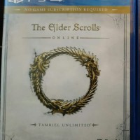 Promo Ps4 The Elder Scrolls Online Tamriel Unlimited Bagus
