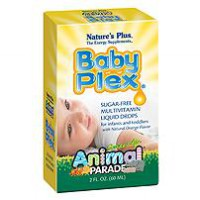 Nature's Plus BABY PLEX ANIMAL PARADE | Multivitamin bayi