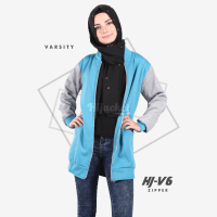 JAKET HIJACKET VARSITY - PREMIUM FLEECE - HJ-V6 Zipper ( Hijacket Varsity )