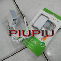 Travel Charger / Adaptor / Saver Oppo 3 Output / 3in1 Dual USB 2.1 A Good Quality