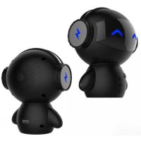 2 in 1 Speaker Bluetooth Portable + Power Bank Model Robot