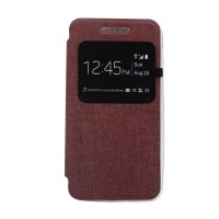 EXCELLENCE FLIP COVER ENIGMA SINGLE VIEW ASUS ZENFONE 4S - BROWN