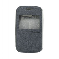 EXCELLENCE FLIP COVER ENIGMA SINGLE VIEW SAMSUNG GALAXY POCKET 2 / G110 - GREY