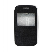 EXCELLENCE FLIP COVER ENIGMA SINGLE VIEW SAMSUNG GALAXY POCKET 2 / G110 - BLACK