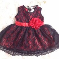 HOLLYWOOD DRESS TYPE B dress anak dress bayi baju anak baju bayi babeebabyshop