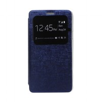 EXCELLENCE FLIP COVER ENIGMA SINGLE VIEW SAMSUNG NOTE 4 - BLUE