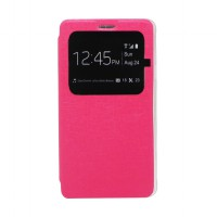 EXCELLENCE FLIP COVER ENIGMA SINGLE VIEW SAMSUNG NOTE 4 - PINK