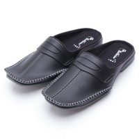 Dr.Kevin Leather Sandal 1627 Black
