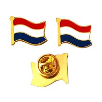 Mulyocreative Hollands Belanda Pin Bendera [2 pcs]