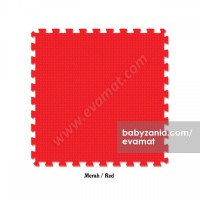 Evamats Puzzle Polos 60 x 60 - Red