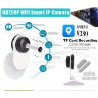 Mini IP Wifi SD CCTV Wireless Camera HD 720P Smartphone Audio CAM Baby Monitor