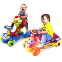 harga Multifunctional Educational Baby Walker Toys 2 in 1 (Ride-on or Push Forward) elevenia.co.id