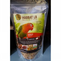 Pakan Burung Herbal Love Bird Gold