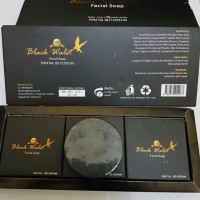 New Black Walet Facial Soap