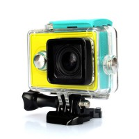KingMa Underwater Waterproof Case for Xiaomi XiaoYi Yi Sports Action Camera - Hijau