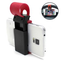 Car Steering Wheel Phone Holder [Penggenggam Handphone pada Stir Mobil] / Car Holder