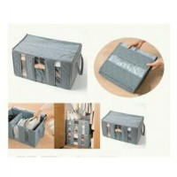 Bamboo Charcoal Clothes Storage Box