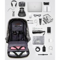 Tas Ransel Laptop Anti Maling / Anti Theft Smart Backpack USB Charger