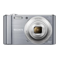 Camera Digital - Compact Camera - Pocket Camera Sony DSC-W810 6X Zoom Optic - SILVER