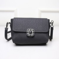KGS Tas Casual Wanita Black Stones Mini Satchel Bag Hitam