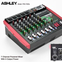 POWER MIXER 7 CHANNEL OUTPUT 5 CHANNEL ASHLEY PRX