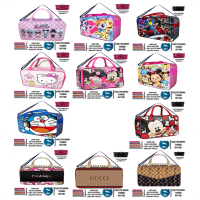 Tas Travel Koper Anak - LOL PONY AVENGERS MICKEY MINNIE TSUM DORAEMON - Ukuran Besar Anti Air
