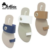 Dr.Kevin Women Sandals 57012 Blue, White, Brown Cream | African Tulip